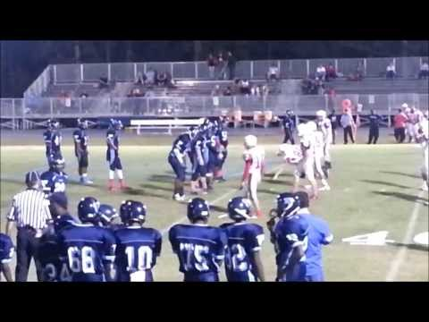 Bertie High School Football Highlights in wins over Currituck County 38-6 10/17/2013