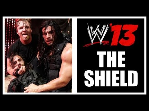 How To Get The Shield On WWE 13 (CAW Spotlight) The Shield Entrance