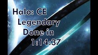 Halo: CE Legendary Speedrun in 1:14:37