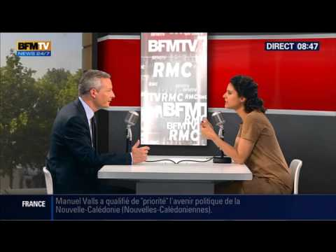 Bourdin Direct: Bruno Le Maire - 1707