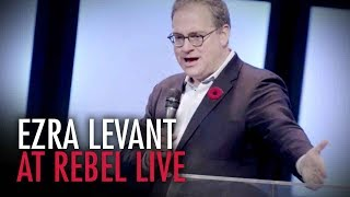 Ezra Levant: FULL SPEECH at The Rebel Live, Calgary