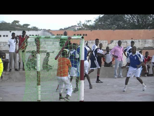 Kubadda Gacanta (Handball) Mogadishu Somalia May 18th 2011