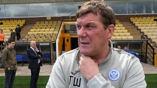 Tommy Wright on completing O