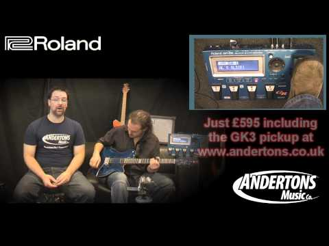 Roland GR55 Guitar Synthesizer Demo with Alex Hutchings