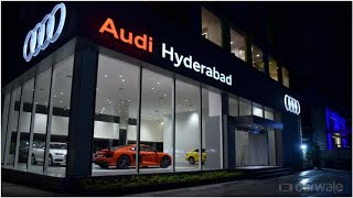 Audi India opens new showroom in Hyderabad | CAR NEWS 2019