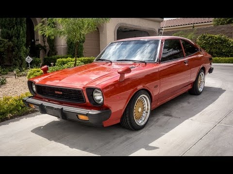 1977 Toyota Corolla SR5 TE51 - YouTube