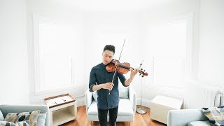 Just The Way You Are Bruno Mars Violin By Daniel Jang