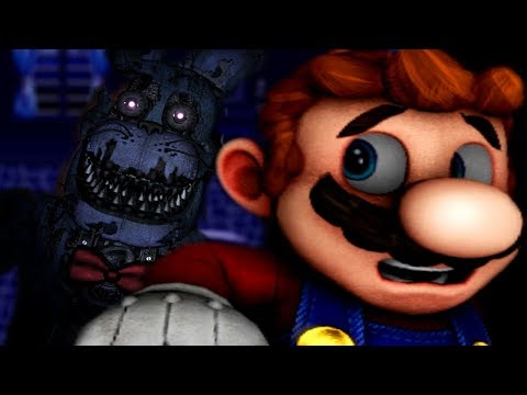 MARIO GETS TRAPPED IN AN ANIMATRONIC MAZE! | Mario in Animatronic Horror The Nightmare Begins (FNAF)