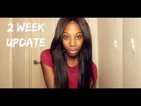 2 Week Update & Curl - Peruvian Straight (Beauty Forever Hair)