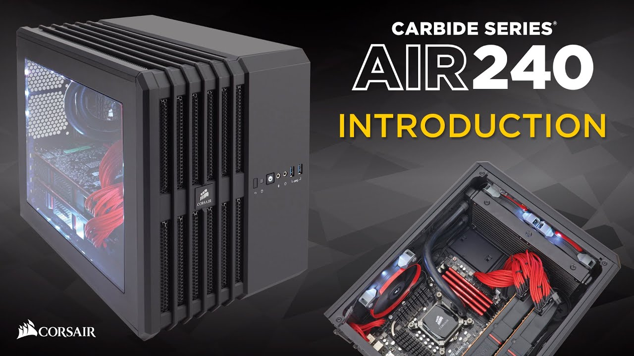 Case Corsair Carbide 300r Vs Obsidian 450d Ign Boards Windowed Side Panel Here Is One Next To The Larger Air Cases In You Are Curious I Have Mine Turned With Glass As Top