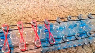 How to make a rainbow loom infinity bracelet