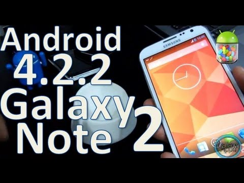 [How To] Android 4.2.2 para Galaxy Note 2 N7100/i317 - RootBox Rom (Español Mx)