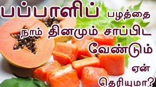 பப்பாளி மருத்துவ குணங்கள்|Amazing health benefits of eating papaya fruit|TAMIL TIPS PAGE