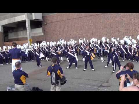 Blugold Marching Band; International Fall Festival 20149820 part1