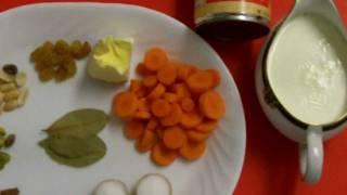 Gajor Halwa Bangladeshi Eid Special Recipe in Bangla - A Delicious Dessert
