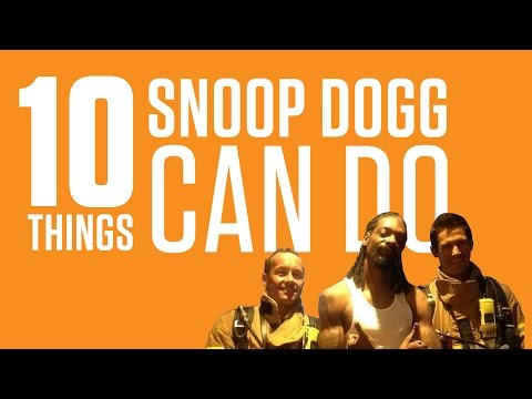 10 Things Snoop Dogg Can Do That No Other Rapper Could