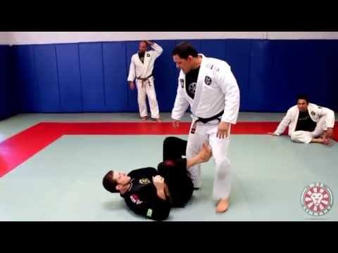 De la Riva Guard Pass - Headquarters Position or Shin Pressure by Saulo Ribeiro Image 1
