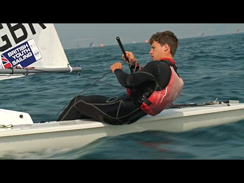 29er 420 RS:X Laser Radial Laser Spitfire Race Finals at the RYA Youth Nationals 2015