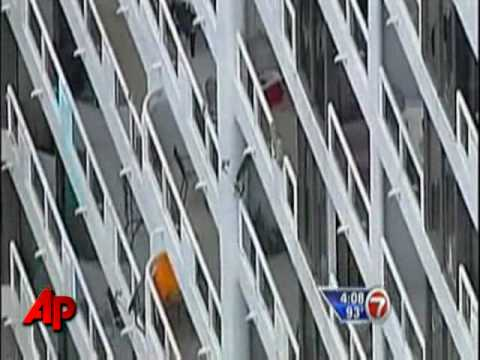 Official: Boy Survives 7-Story Fall From Balcony