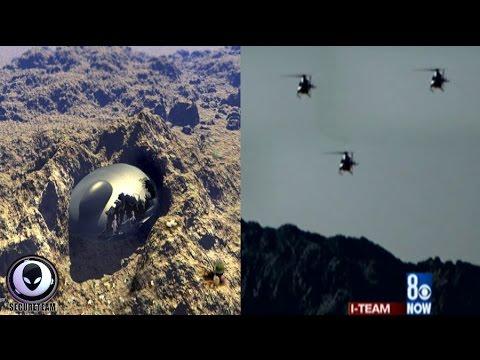 UFO CRASH Hidden By MIB In California! 5/18/17