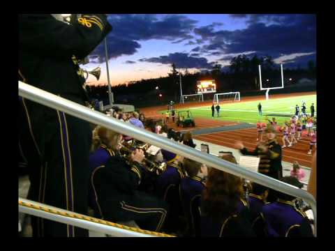 Oak Harbor High School Marching Band, Fight Song, 2011