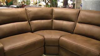 Manwah X5168 Power Reclining Sectional with Power Headrests at Big Sandy Superstore.