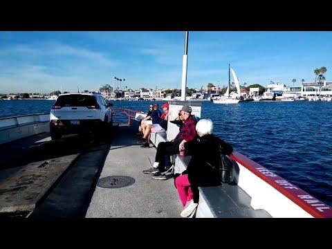 Crossing to Balboa Island via the Ferry