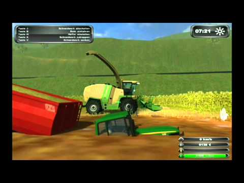 HD Farming Simulator 2011 MULTIPLAYER MUD SILAGE!