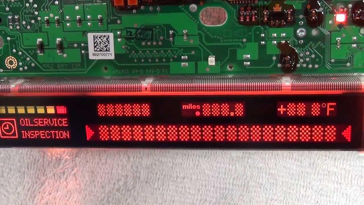 Bmw E38 E39 M5 X5 Instrument Cluster Obc Pixel Repair