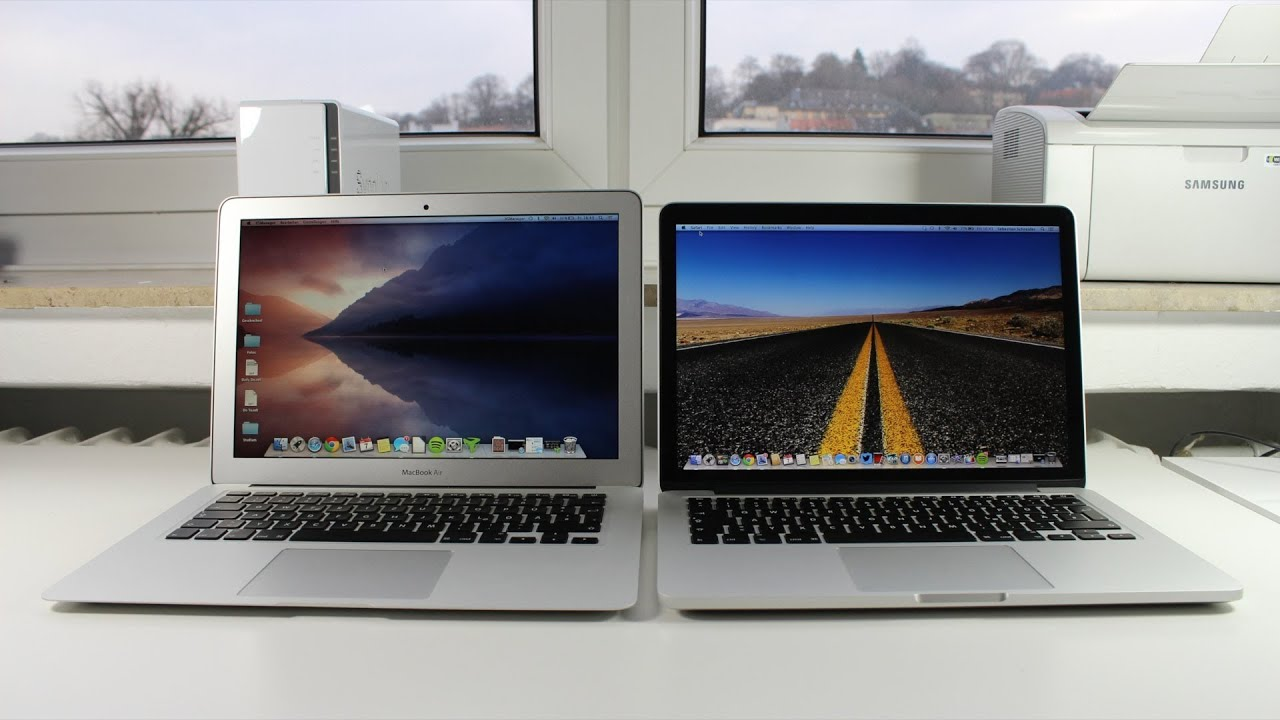 What to Buy: MacBook Air or Retina MacBook Pro 13'