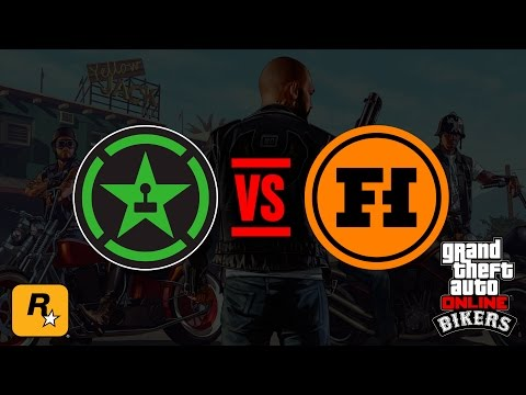 BIKERS Live - ACHIEVEMENT HUNTER VS FUNHAUS (GTA Online Official Stream)