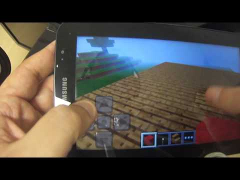 Review del Minecraft Pocket Edtion para Android con MYM ALK4PON3