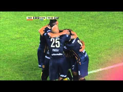 Rosario Central le ganó por dos a cero a Independiente en Avellaneda
