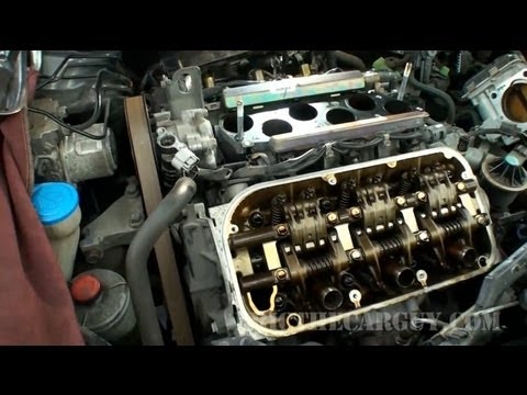 Honda J Series V6 Valve Adjustment (Part 2) -EricTheCarGuy
