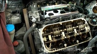 Honda J Series V6 Valve Adjustment (Part 2) -EricTheCarGuy