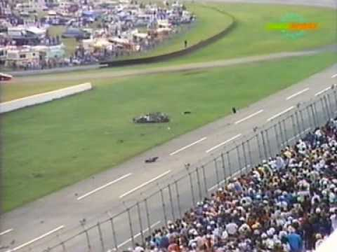 Rusty Wallace Flips at Talladega-Live clip Video