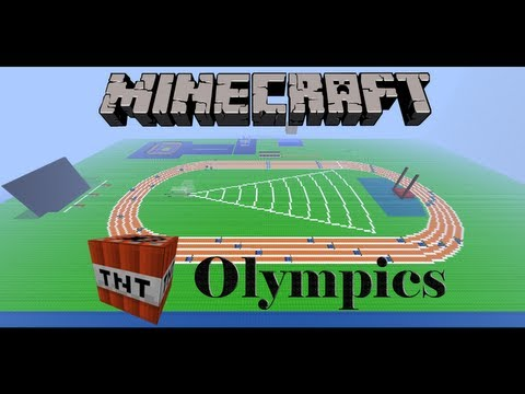Minecraft TNT Olympics Episode 7: Synchronized Swimming