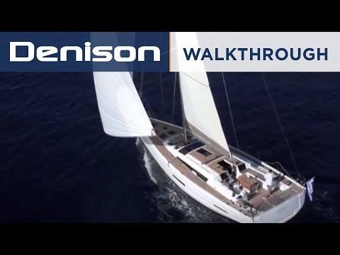 Dufour 560 Grand Large [Interior Walkthrough]
