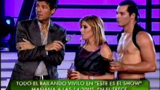 Showmatch 2010 - Virginia Gallardo se quebró por las críticas