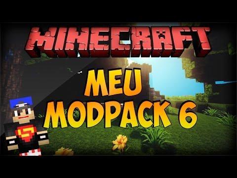 MINECRAFT 1.5.2: Meu Modpack 6 - 90 Mods (Vídeo Atualizado)