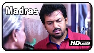 Alex Pandian - Madras Tamil Movie - Karthi refuses to shift to new house