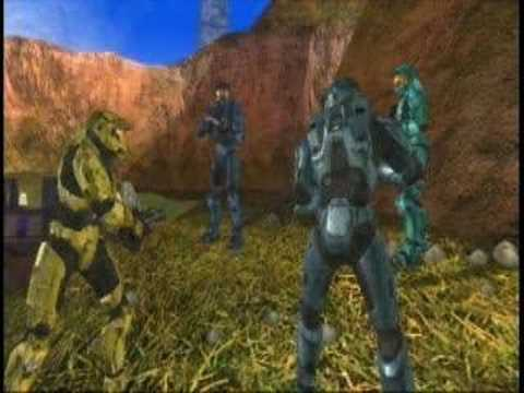 Red Vs. Blue Funniest Scenes