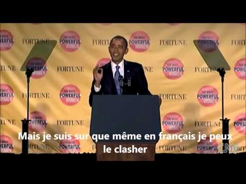OBAMA clash HOLLANDE