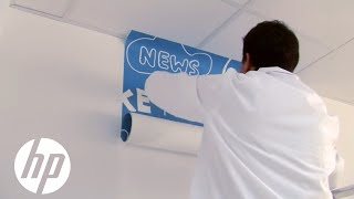 Installing Wallcoverings | HP Latex | HP
