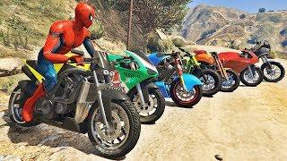 HOMEM ARANHA E AMIGOS SALTO COM MOTO! MOTOS COM SPIDERMAN - IR GAMES