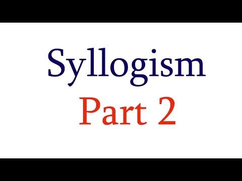 Reasoning for Bank Exam - Syllogism Part 2