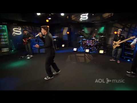 Jesse McCartney - Leavin' - Live Performance on AOL Sessions