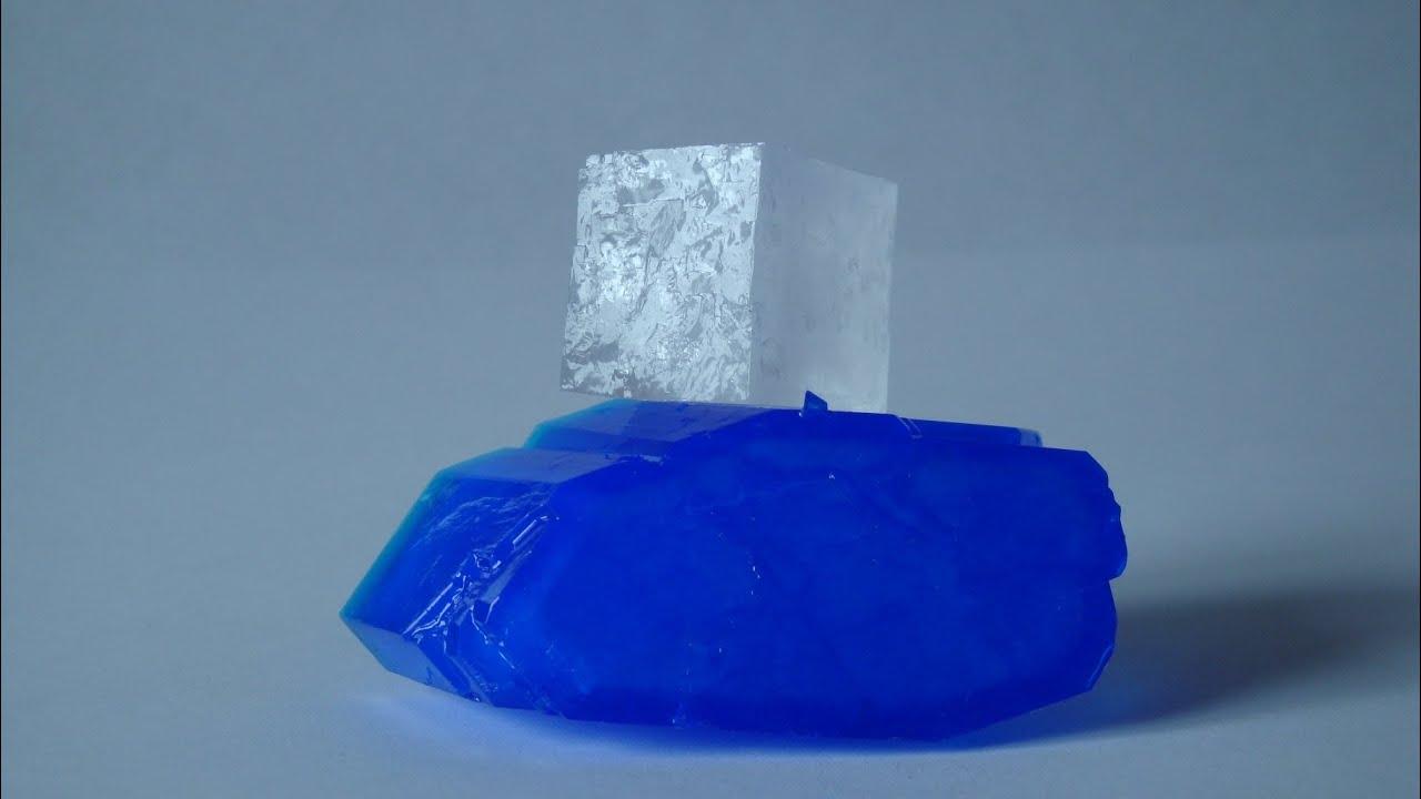 Как сделать кристал с соли