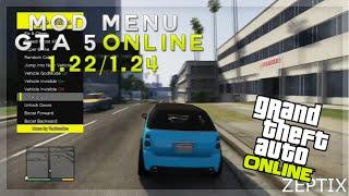 MOD MENU GTA 5 ONLINE 1.23/1.24 | PS3/XBOX + BYPASS