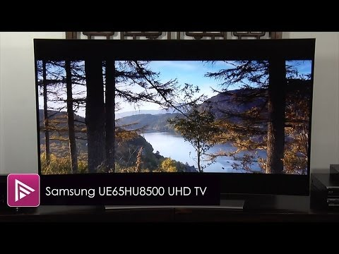 Samsung UE65HU8500 Curved 4K Ultra HD LED TV Review